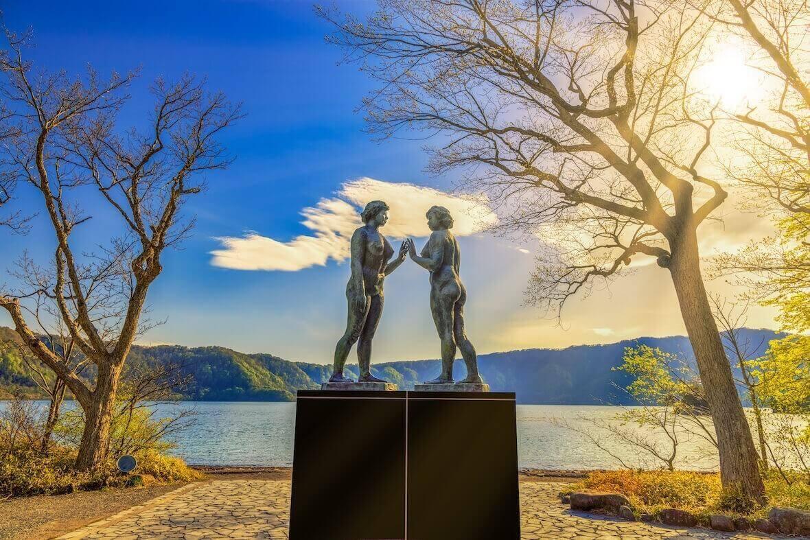 十和田湖_乙女の像